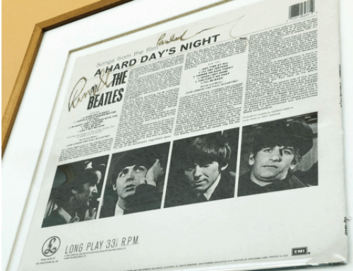 Stories Behind the Signatures: Paul McCartney and Ringo Starr