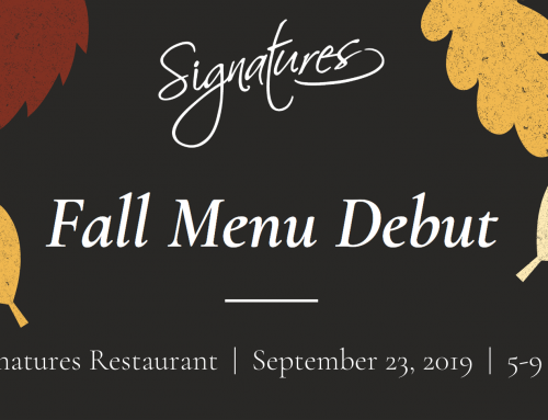 Fall Menu Debut- Monday, September 23
