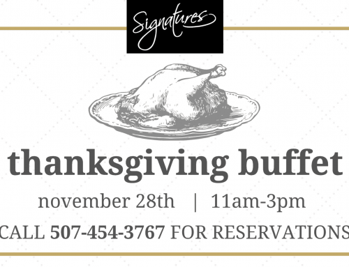 Thanksgiving Buffet in Visions