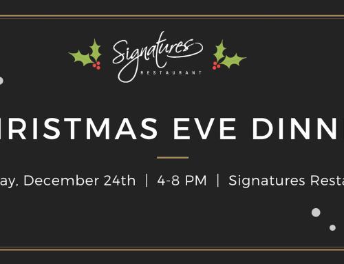Christmas Eve Dinner at Signatures Restaurant
