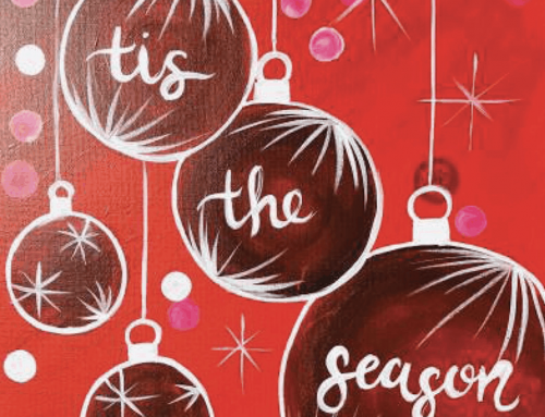 Wine and Canvas: December 16th, 6-9 PM