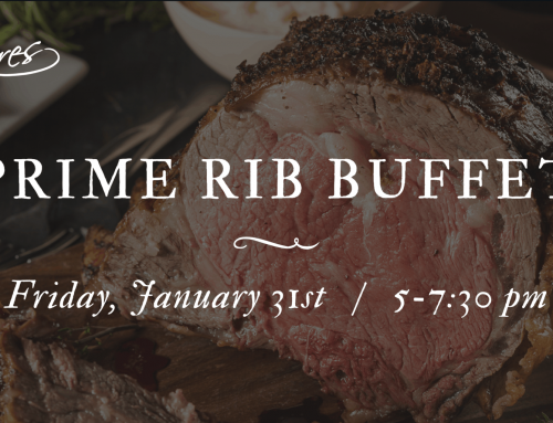 Prime Rib Buffet: Friday, January 31st