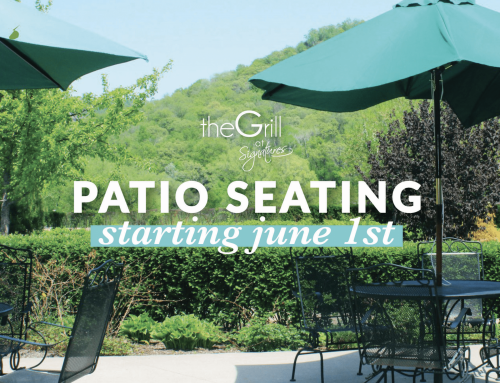 The Grill Patio Opening Monday, June 1st