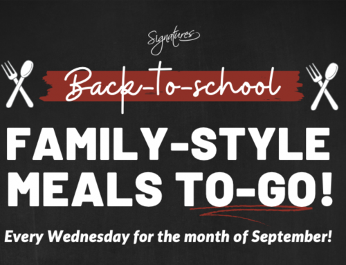 Wednesday Family-Style Meals To-Go