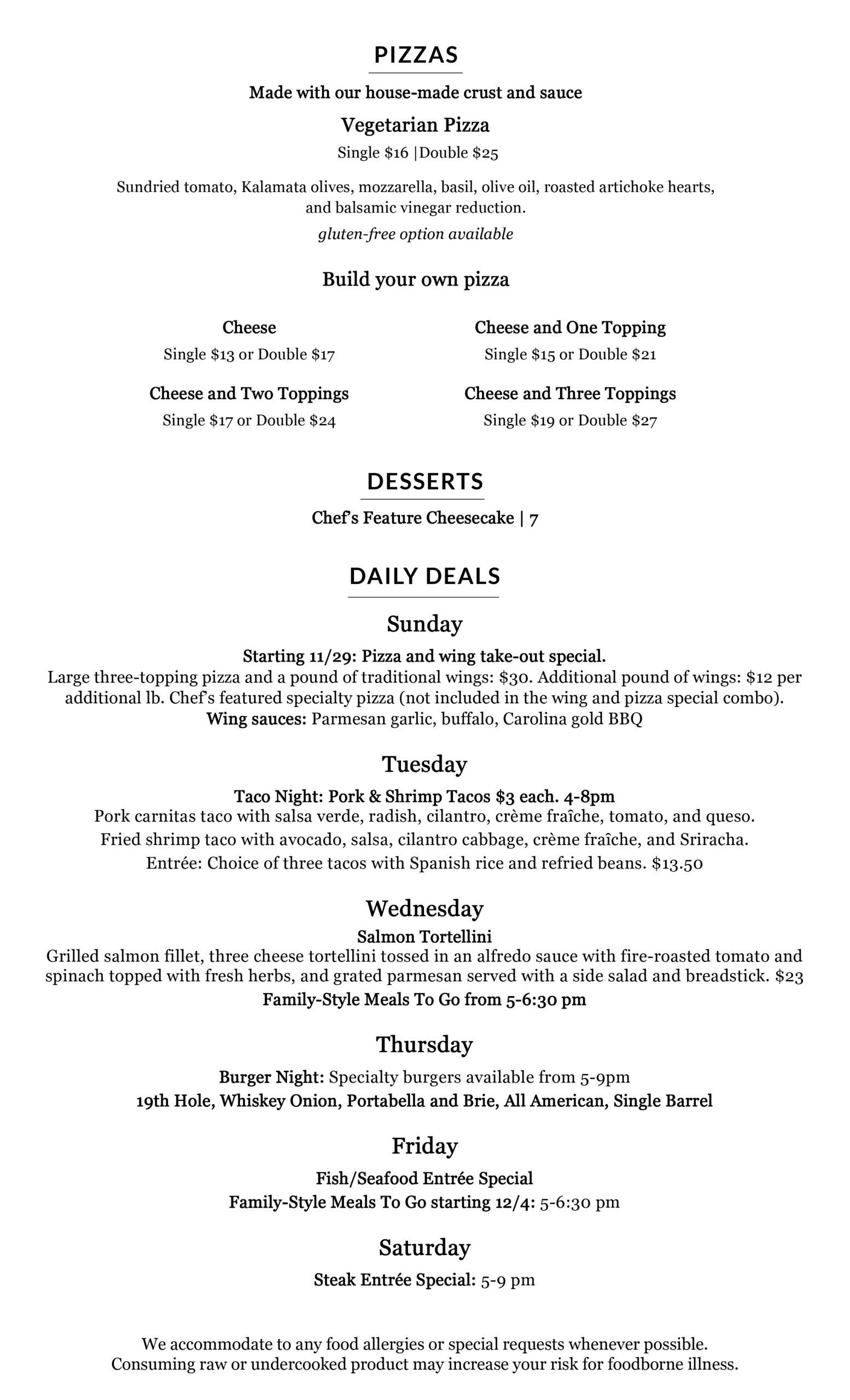 The Grill Limited Menu2