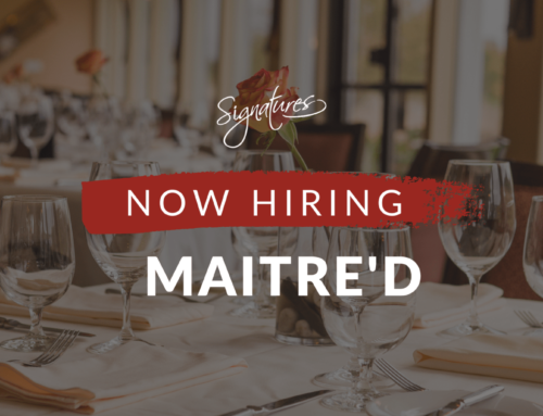 Now hiring: Maitre'd