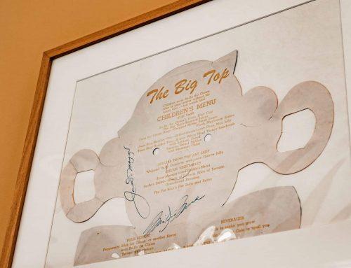 Stories Behind The Signatures: Marilyn Monroe and Joe DiMaggio Signed Restaurant Menu