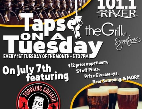 Taps on a Tuesday – September 2nd